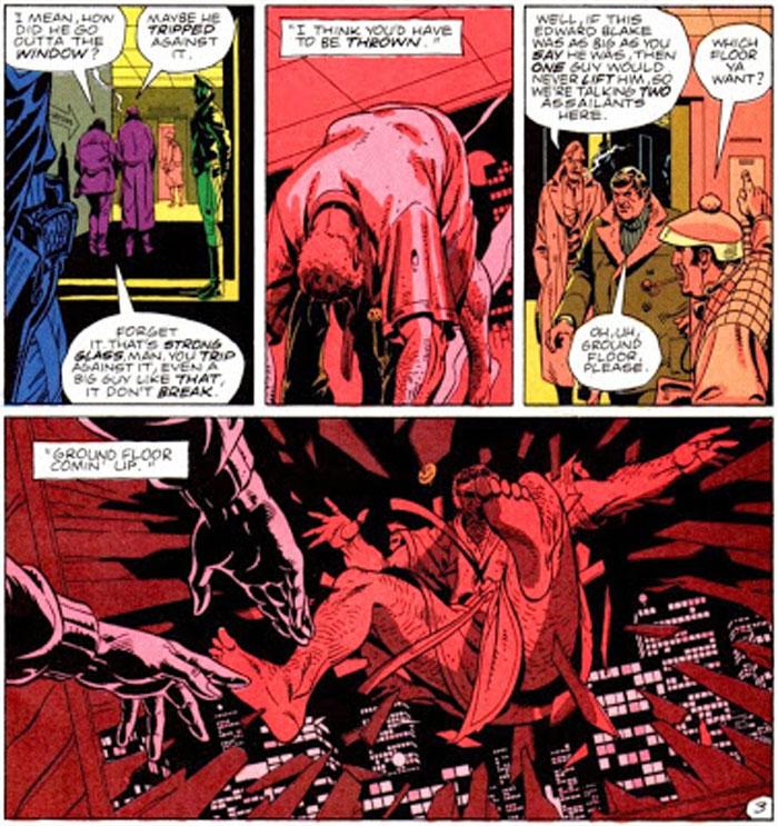 Watchmen. DC Comics - Image 3 - composition visuelle de la bande dessinée